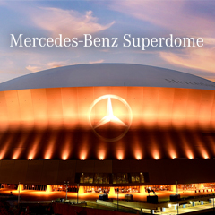 Mercedes benz superdome new orleans saints for Hotels near the mercedes benz superdome
